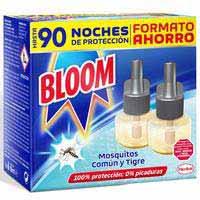 Bloom Insecticida antimosquitos recambio eléctrico líquido 2u