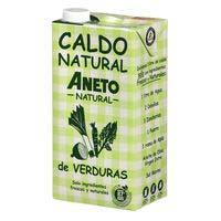 Aneto Brou natural verdures brik 1l