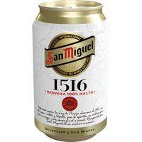 San Miguel 1516 Cerveza lata 33cl