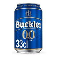 Buckler Cerveza 0,0% lata 33cl