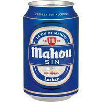 Cervesa sense alcoholMAHOU, llauna 33cl