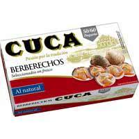 Cuca Berberechos 50/60 115g