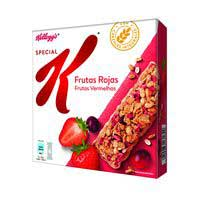 Kellogg's Barretes cereals Special K fruites vermelles 6x21,5g