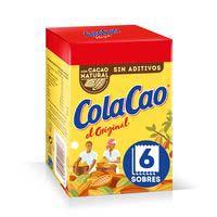 Cola Cao Cacau 6 sobres 108g