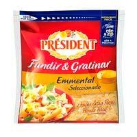 President Rallado especial pizza mozzarella/emmental 150g