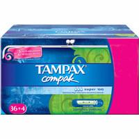 Tampax Tampó Compak super 36u