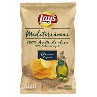 Lay's Mediterráneas patatas fritas artesanas 160g