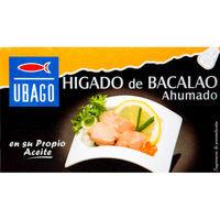 Ubago Fetge Bacallà 125g