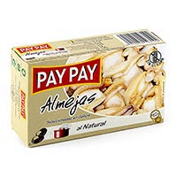 Pay Pay Almejas al natural 120g