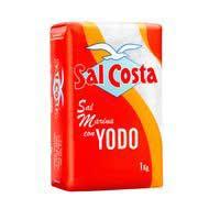 Sal Costa fina con yodo 1kg