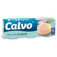 Calvo Tonyina clara natural llauna 3x80g