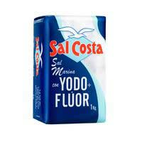 Sal Costa yodada + flúor 1kg