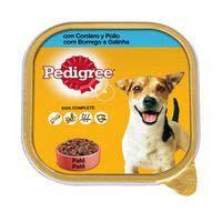 Alimento con cordero-pollo para perro PEDIGREE, tarrina 300 g