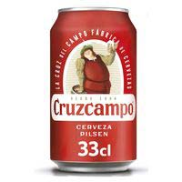 Cruzcampo Cervesa llauna 33cl