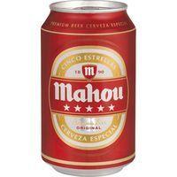 Mahou 5 estrelles Cervesa llauna 33cl