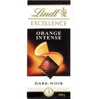 Lindt Chocolate excellence naranja 100g