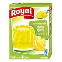 Royal Gelatina limón 170g