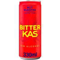 Bitter Kas bebida refrescante lata 33cl
