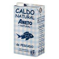 Aneto Brou natural peix brik 1l