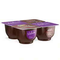 Danone Vitalinea Crema Desnatada de chocolate 0,9% 4x125g