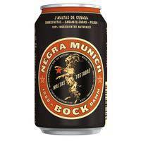 Bock Damm Cerveza negra lata 33cl
