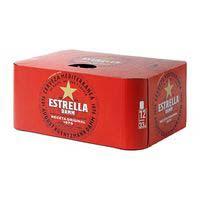Estrella Damm Cerveza lata 12x33cl