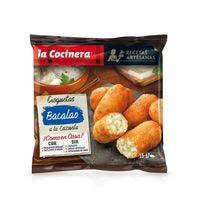 Croquetes de cassola de bacallà LA COCINERA, borsa 500 g