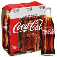 Coca Cola Light botella pack 6x20cl