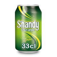 Shandy Cerveza con limón lata 33cl