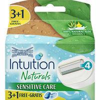 Wilkinson Recanvi Intuition naturals 3+1u