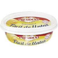 President Mantequilla barqueta fácil untar 250g