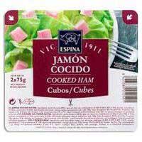 Espina Jamón cocido tacos 2x75g