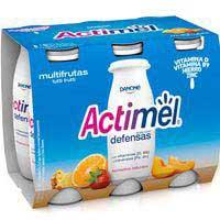 Actimel L-casei multifrutas Danone 6x100ml
