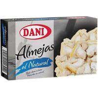 Dani Almejas blancas 63g