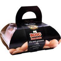 Huevo fresco XL cesta ROIG, 1/2 docena