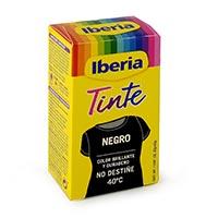Iberia Tinte ropa negra