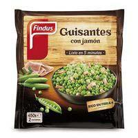 Pèsols amb pernil FINDUS Salt, borsa 450 g