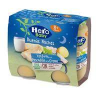 Hero Baby cena llucet a la crema Buenas Noches 2x190g