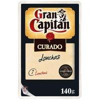 Gran Capitán Formatge curat llenques 140g