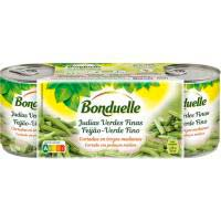 Judía verde BONDUELLE, pack 3x110 g
