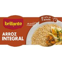 Brillante Vasitos Arroz integral guarnición 2x125g