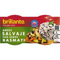 Brillante Vasitos Arroz salvaje c/basmati 2x125g