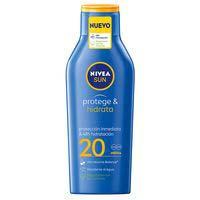 Nivea Leche protectora solar 20fps 400ml