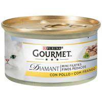 Gourmet Diamant Menjar gat pollastre 85g