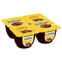 Natillas de chocolate DANONE Danet, pack 4x120 g