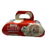 Huevo fresco L suelo cesta ROIG, cartón 8 uds.
