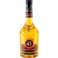 Licor 43, botella 70 cl + Cápsulas café