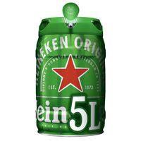 Heineken Cerveza barril 5l
