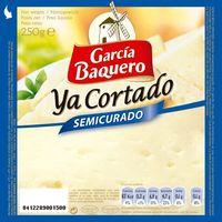 García Baquero Queso mezcla semi ya cortado 250g