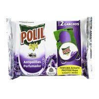 Polil Pinces antiarnes lavanda Polil 2u